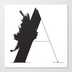 A is for Astronom Canvas Print