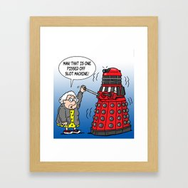 Lola Dalek Framed Art Print