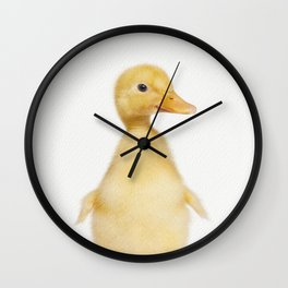Hello Ducky Wall Clock