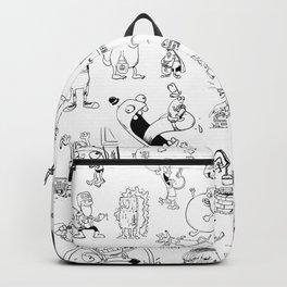 Inktober 2017 Backpack