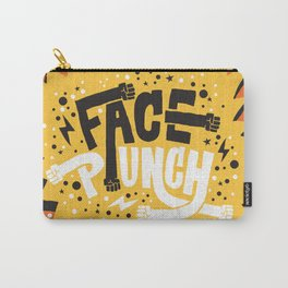 FACE PUNCH Carry-All Pouch