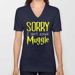 sorry i don't speak muggle. Unisex V-Neck