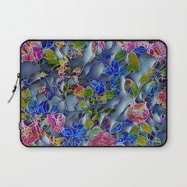 embossed floral Laptop Sleeve