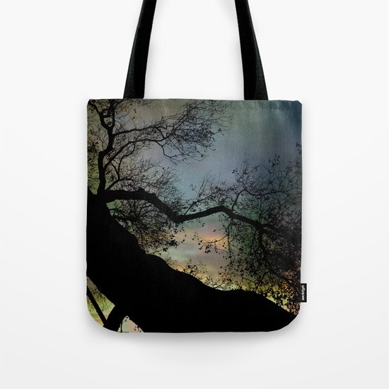 Night Fall by The Tree Tote Bag