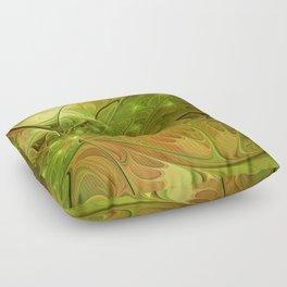 Hope, Abstract Fractal Art Floor Pillow