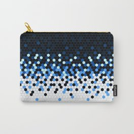 Flat Tech Camouflage Reverse Blue Carry-All Pouch
