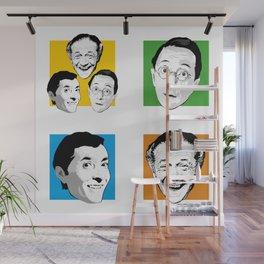 Carry On - Kenneth Williams, Sid James, Charles Hawtrey Wall Mural