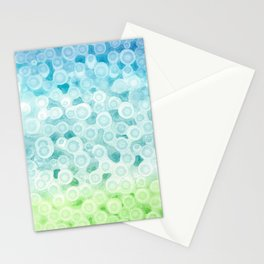 Dotted Seafoam Stationery Cards
