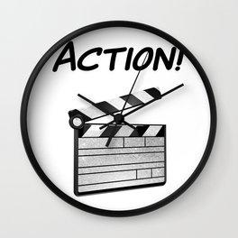 Action! Wall Clock