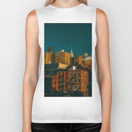 New York City Apartments (Color) Biker Tank