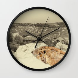 Vintage pasty Wall Clock