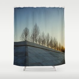 FDR Park NYC Shower Curtain