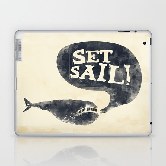 Set Sail! Laptop & iPad Skin