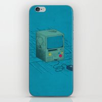 video game iPhone & iPod Skins featuring Old Video Game Console by ellygeh | Elly Medeiros