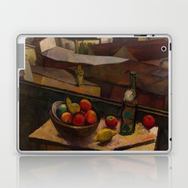 Diego Rivera - Knife and Fruit in Front of the Window Laptop & iPad Skin
