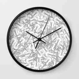 Guitar Hero II B&W Wall Clock