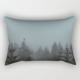 Pacific Trees Rectangular Pillow