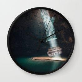 The Statue of Liberty Wall Clock