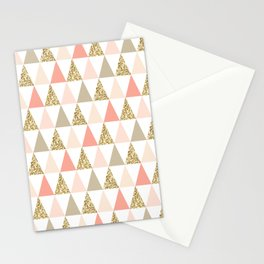 Graphic and Glitz in Coral Reef Stationery Cards