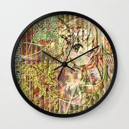 Jeune fille de joie usine (Factory girl joy) Wall Clock