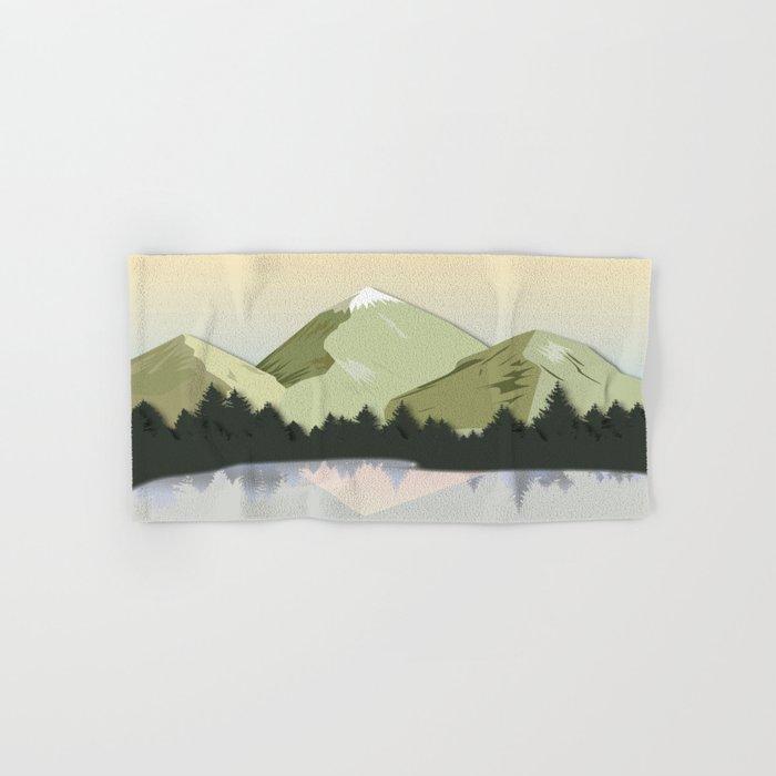 Night Mountains No. 20 Hand & Bath Towel