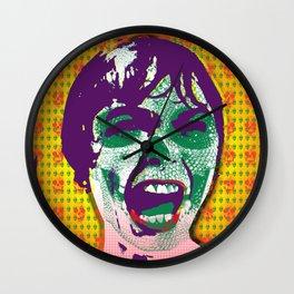 The Scream #9 Wall Clock