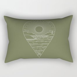 Heading Out Rectangular Pillow