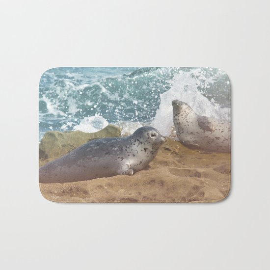 Seal of No Approval Bath Mat