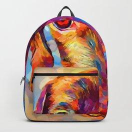 Miniature Dachshund 3 Backpack