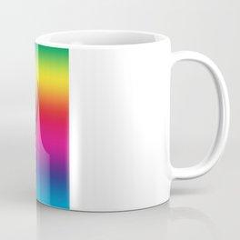 One Heart Rainbow Coffee Mug