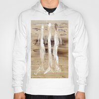spiritual Hoodies featuring Spiritual Encounters by Nut Houch Art