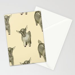 Two little goats Stationery Cards