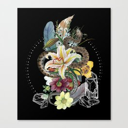 Tough and Tender Magic Design Canvas Print