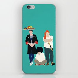 Kidnapping Caucassian Style iPhone Skin
