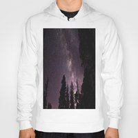 milky way Hoodies featuring Milky Way by Holly O'Briant