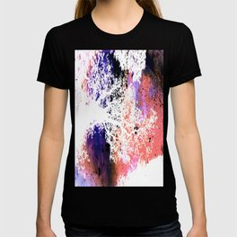 White Trees Colorful Space T-shirt