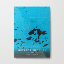 Greater Sudbury Canada Metal Print