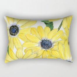 Strangely Sunny Rectangular Pillow