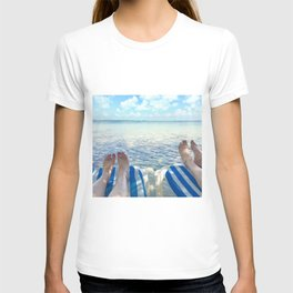Lovers Toes over Key Largo T-shirt