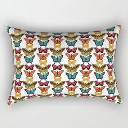 Butterfly Spectrum: pattern Rectangular Pillow
