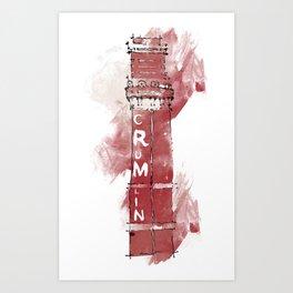 Crumlin Road Gaol Art Print