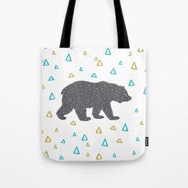 Forrest Animal Bear Print Tote Bag