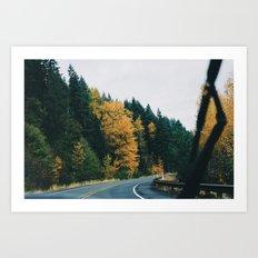 Drive VI Art Print