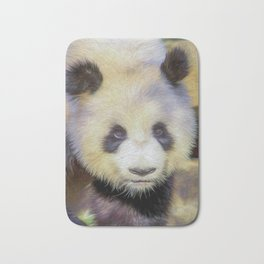 Giant Panda II  (digital painting) Bath Mat