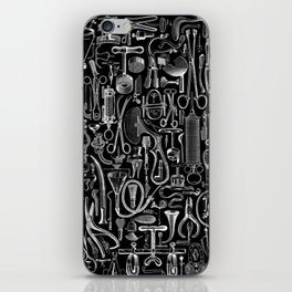 Medical Condition BLACK iPhone Skin