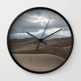 Sands and Steps Wall Clock