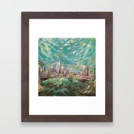 New Nashville From Love Hill Framed Art Print