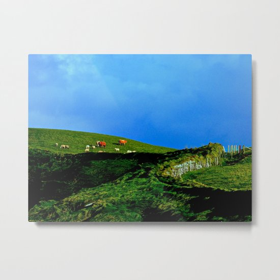 The Rolling Hills of County Clare Metal Print