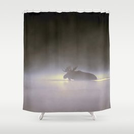 mystical moose Shower Curtain