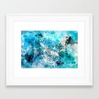 Framed Art Prints featuring Water's Dance by Caleb Troy